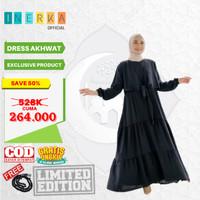 Ayla Dress | Setelan Muslim Gamis Wanita Bahan Wolly| ALL VARIAN