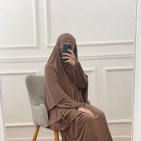 FRENCH KHIMAR DAILY - hijab instan khimar jersey