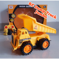 Rc Mobil Truck Pasir Fuso Long Mainan Truk Pasir Remote Control Anak