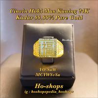 Cincin Cowo Mas Kuning 24K Kadar 99.99% Asli Emas Pure Gold