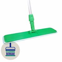 Set Flat Mop 60 cm / Alat Pel Tarik / Super Mop