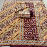 setelan kain sarimbit couple batik trusmi Cirebon bahan dobby new