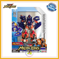 Metalions Auto Changer HURRICANE Transforming Robot Young Toys