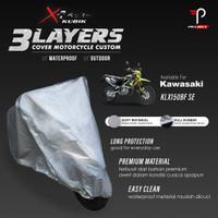 Cover Motor Kawasaki KLX150BF SE 3 Layers Waterproof Outdoor