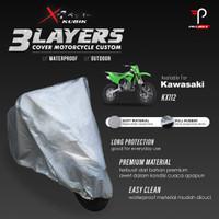 Cover Motor Kawasaki KX 112 3 Layers Waterproof Outdoor