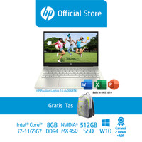 HP Pavilion14-dv0068TX/14/Intel i7-1165G7/8GB/Nvidia MX450/512GB SSD