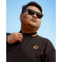 Kaos Polo Pria Lengan Pendek Big Size BIG ORET / Black Polo