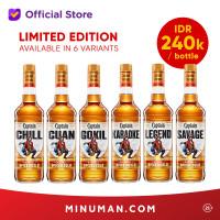 Captain Morgan Spiced Gold Rum 750ml