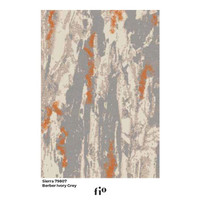 Fio Karpet Lantai - Sierra 79807 Berber Ivory Grey - 240 x 340 cm