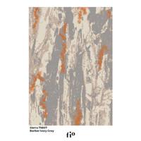 Fio Karpet Lantai - Sierra 79807 Berber Ivory Grey - 200 x 290 cm