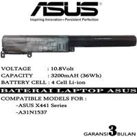 Baterai Batrai Laptop ASUS X441 X441U X441N X441S X441UA X441 A31N1537