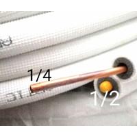 PIPA SELANG AC ARTIC 1,5 PK - 2 PK R410 & R32 ( 1/4 + 1/2 ) / METER