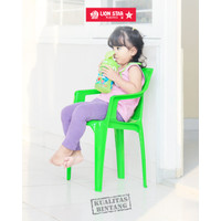 Lion Star EC-3 Child Armrest Chair Bangku Plastik Anak Sender Tangan