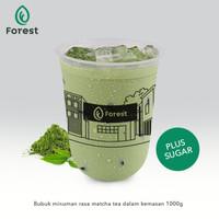 Bubuk Minuman GREEN TEA Powder 1000g Plus Gula - FORESTBubble Drink TC