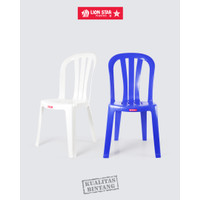 Lion Star EC-8 Tivoli Chair Bangku Kursi Sender Plastik Kokoh Kuat