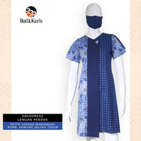 Batik Keris Sackdress L.Pendek Lereng Manunggal Komb. Kawung Seling