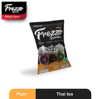 Frezzo Powder Plain Bubuk Minuman Thai tea 1 Kg