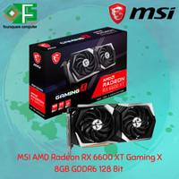 MSI Radeon RX 6600 XT Gaming X 8G   8GB GDDR6   128 Bit   2 Fan