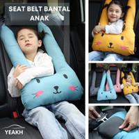 Bantal leher karakter/bantal leher anak/bantal kepala mobil karakter - Kuning
