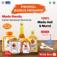 Madu Hutan Asli Murni Nusantara Wild Bee Randu - 400gr Belimbing