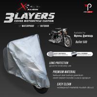 Cover Motor Royal Enfield Bullet 500 3 Layers Waterproof Outdoor
