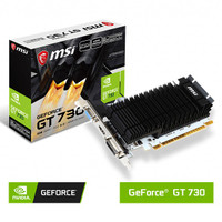 VGA Card MSI GeForce GT 730 N730K-2GD3H/LP - 2GB DDR3