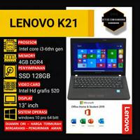 LAPTOP LENOVO THINKPAD K21 COREi3-6thn gen RAM 4GB SSD 128GB