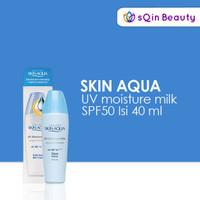 Skin aqua UV moisture milk SPF50 40ml / Sunscreen / Sunblok