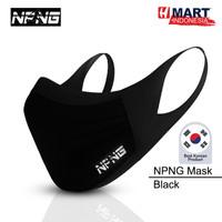 NPNG Sports Mask - Masker Olahraga Unisex (Black)