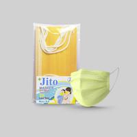 Masker Anak JITO Kuning isi 5 pcs - Masker 3 Lapis Earloop