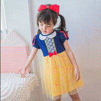 Gaun Snow White Premium Setelan Baju Anak Frozen Princess Dress Tutu
