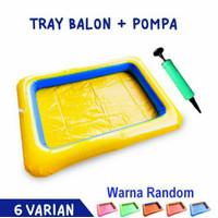 kolam balon + pompa kolam pasir kinetik pasir pasiran ajaib