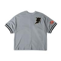FOG Fifth Collection Big League Baseball Jersey T-Shirt Grey - L