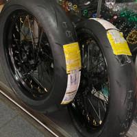 Paket ban set Supermoto crf 150 premium ban dunlop velg excel takasago