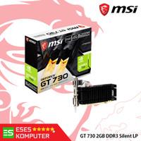 VGA MSI GeForce GT 730 2GB DDR3 LP | N730K-2GD3H/LPV1
