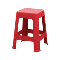 Kursi Bangku Rotan Olymplast - Merah, Ojek Online