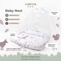 Sumimo Baby Nest / Kasur Kolam Kelambu