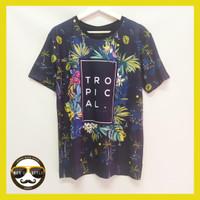 Baju Kaos Pria Bangkok Drifit Printing Import Thailand Tropical