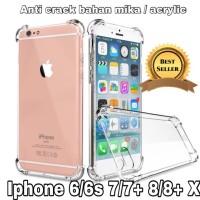 Case anti crack / antishock iphone 6 6s 7 8 + plus X acrylic anticrack