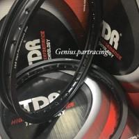 VELG TDR W SHAPE SET 17 X 160/185 BLACK RING 17 ORIGINAL TDR RIM