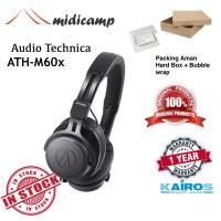 Headphone Flat Profesional Studio Monitor Audio Technica ATH M60x M60
