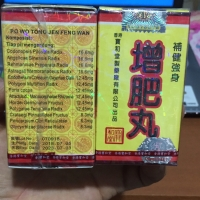 Po Wo tong Jeng Feng Wan obat penambah nafsu makan/ gemuk badan herbal
