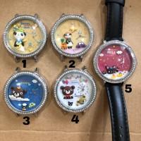 Jam tangan korea original mini watch miniature clay kuori japan jepang