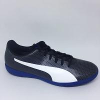 Sepatu futsal puma original Spirit IT black/iron blue new 2018