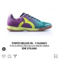 Sepatu futsal Ortuseight original Helios tosca/ungu new 2018