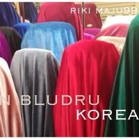 KAIN BLUDRU - kain-bahan bludru korea, bahan kebaya, blouse,gaun pesta