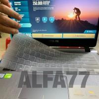 Keyboard Protector transparan Laptop Asus A407 A411 Terbaru Anti debu