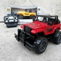 Mainan rc remote control truck jeep king off road mobil ban besar roda