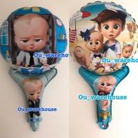 Balon pentung baby boss - balon baby shower - balon foil baby born