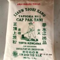 Tepung Sagu / Tapioka Cap Pak Tani Liaw Tjoe Kang 1 Kg - Quality no.1